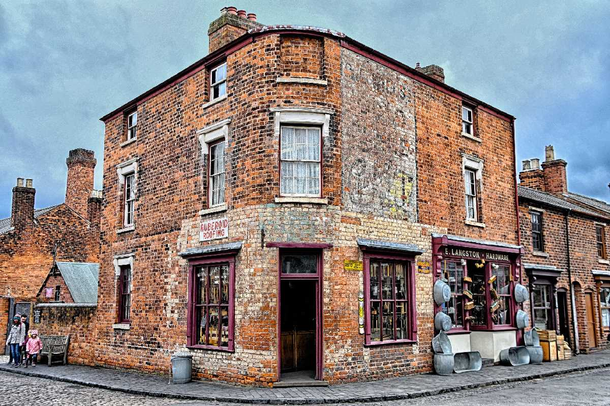 The Black Country Living Museum is an open-air museum of rebuilt historic buildings in Dudley